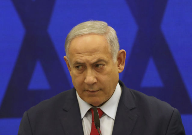 In this Tuesday, Sept. 10, 2019 file photo, Israeli Prime Minister Benjamin Netanyahu, speaks during a press conference in Tel Aviv, Israel