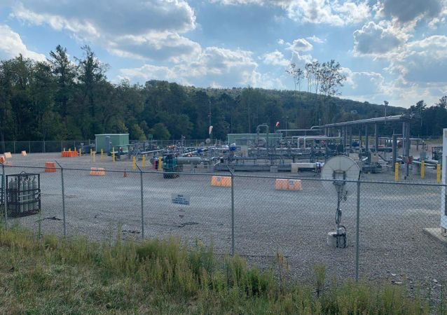 'They are literally surrounding us': numerous fracking wells and facilities are located close to residential areas in the state of Pennsylvania