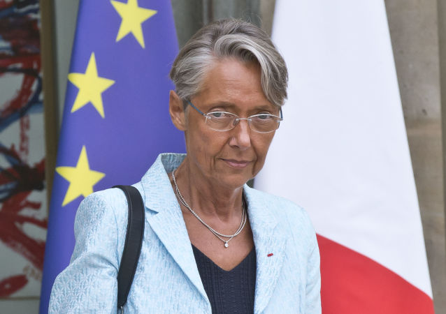 French Junior Minister for Ecology and Solidarity Elisabeth Borne leaves the Cabinet meeting at the Elysee Palace in Paris, France, Friday, Aug. 31, 2018