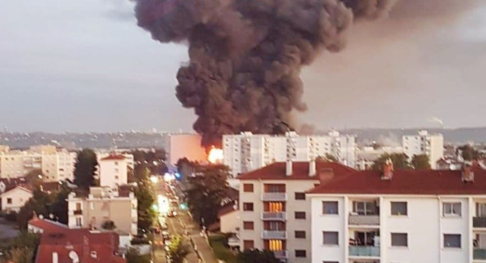 Another fire, this time to Villeurbanne