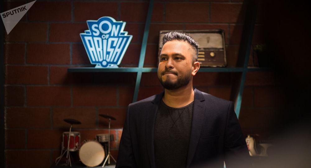Indian talk show host Abish Mathew