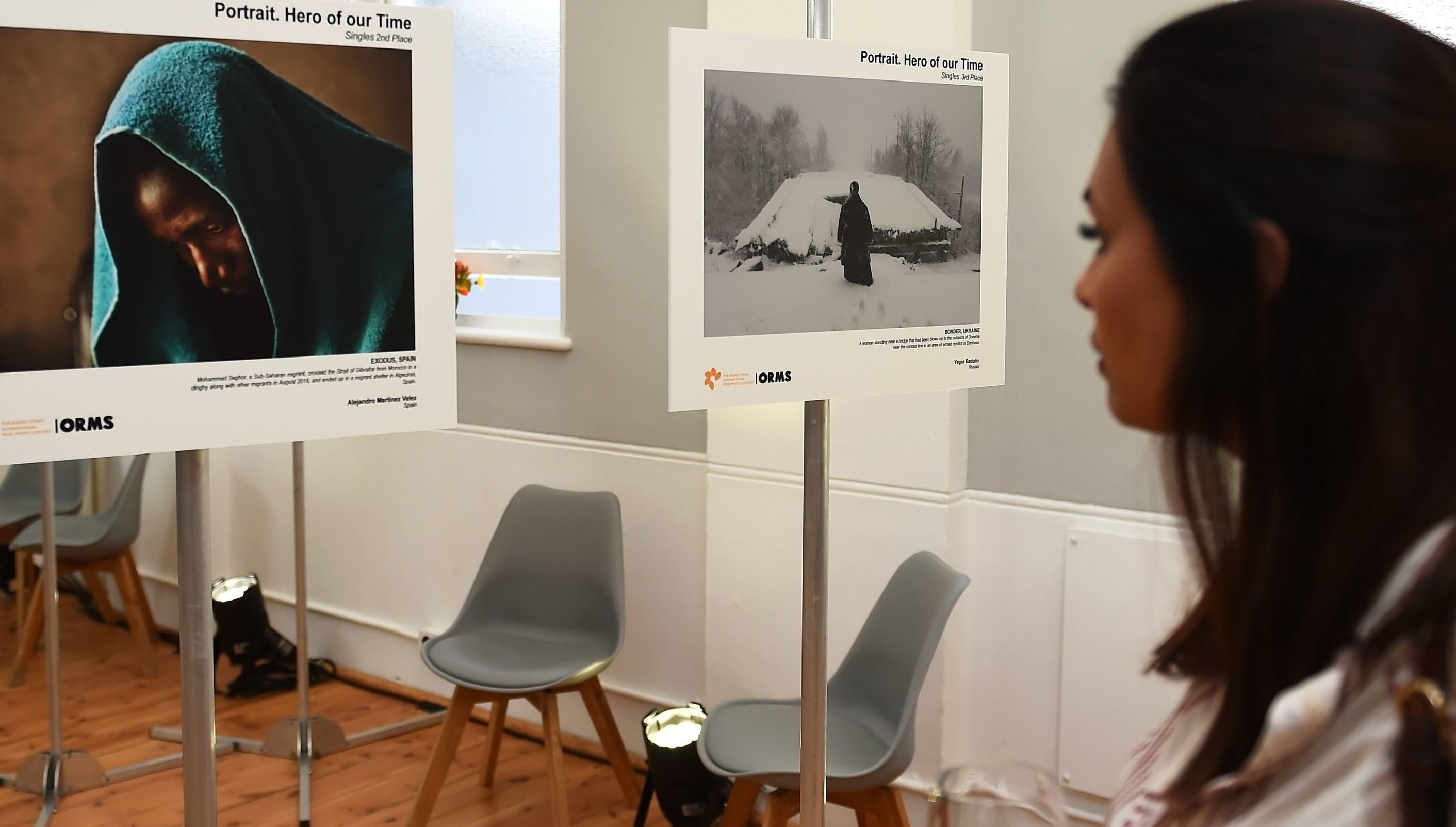 The exhibition of the Andrei Stenin Photo Contest winners in Cape Town