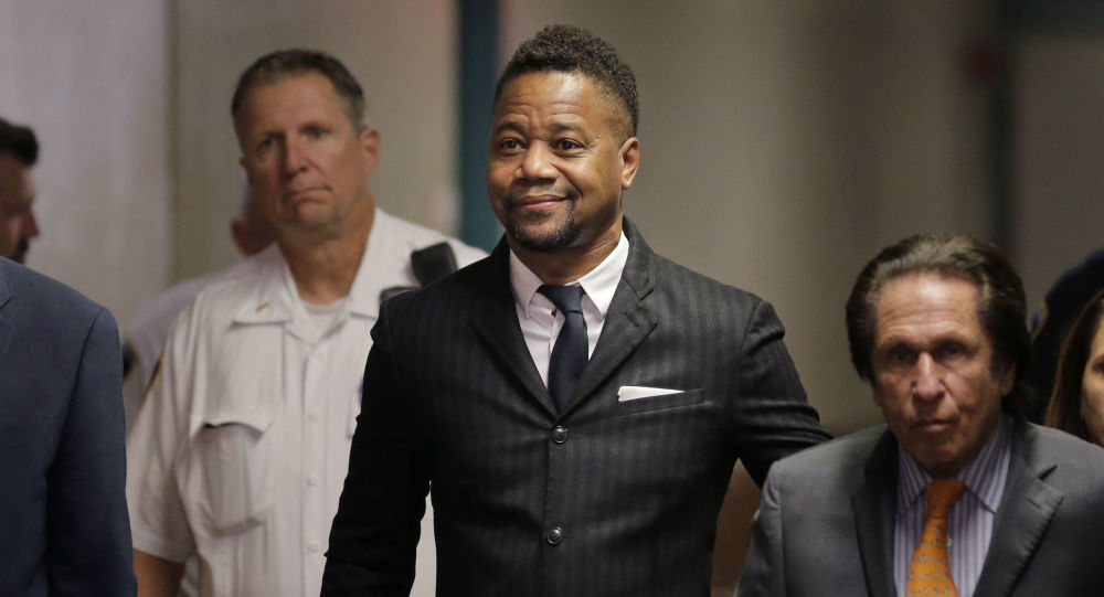 Cuba Gooding Jr. hands himself in to police ahead of second arrangement