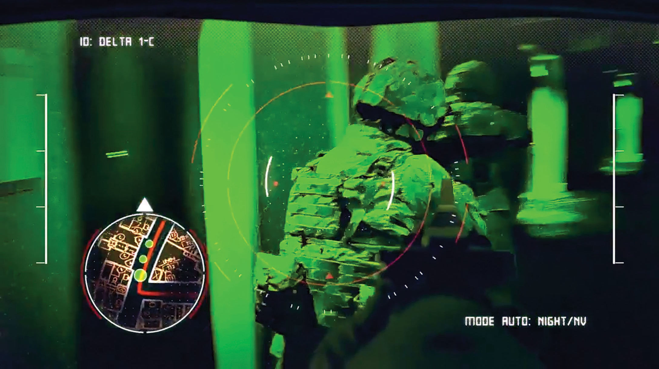 In augmented reality, computer-generated or real-world sensory content is placed on top of a Soldier's view of the real-world environment