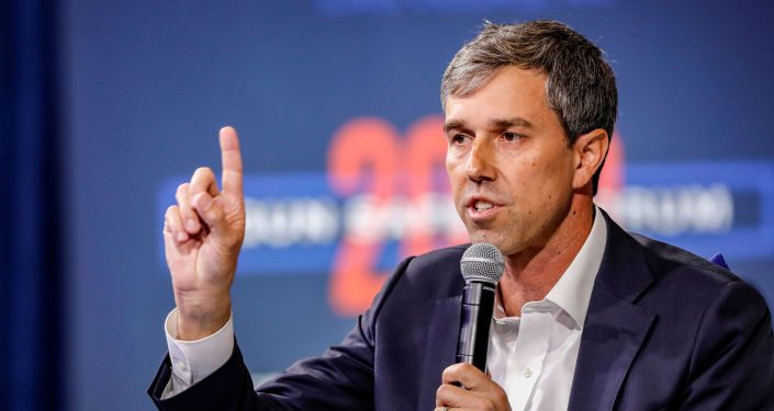 U.S. Democratic presidential candidate and former Texas Congressman Beto O'Rourke responds to a question during a forum held by gun safety organizations the Giffords group and March For Our Lives in Las Vegas, Nevada, U.S. October 2, 2019