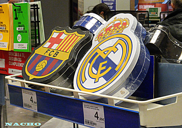 Real Madrid and Barcelona F.C.B.