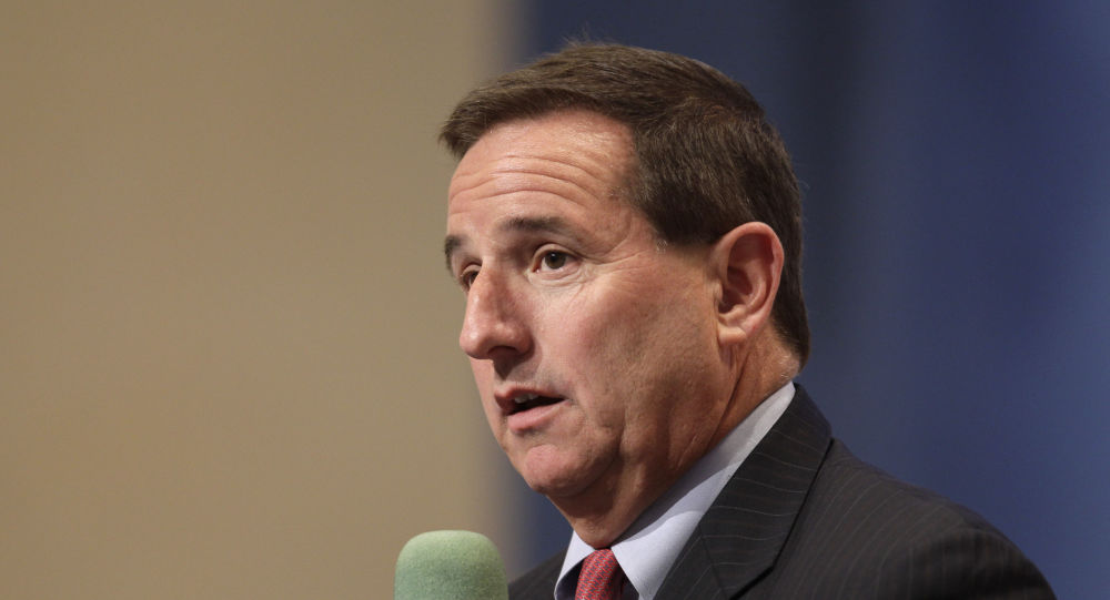 In this June 30, 2011 file photo, Oracle president Mark Hurd at an Oracle event in Redwood City, Calif.   Oracle as confirmed Hurd has died, Friday, Oct. 18, 2019. He was 62. Hurd had led two high-profile Silicon Valley companies, computer maker Hewlett-Packard as well as software company Oracle.