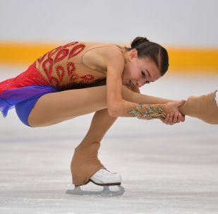Anna Shcherbakova presents free skating programme in Moscow, 8 September 2019