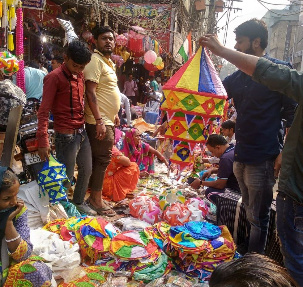 Light festival, India