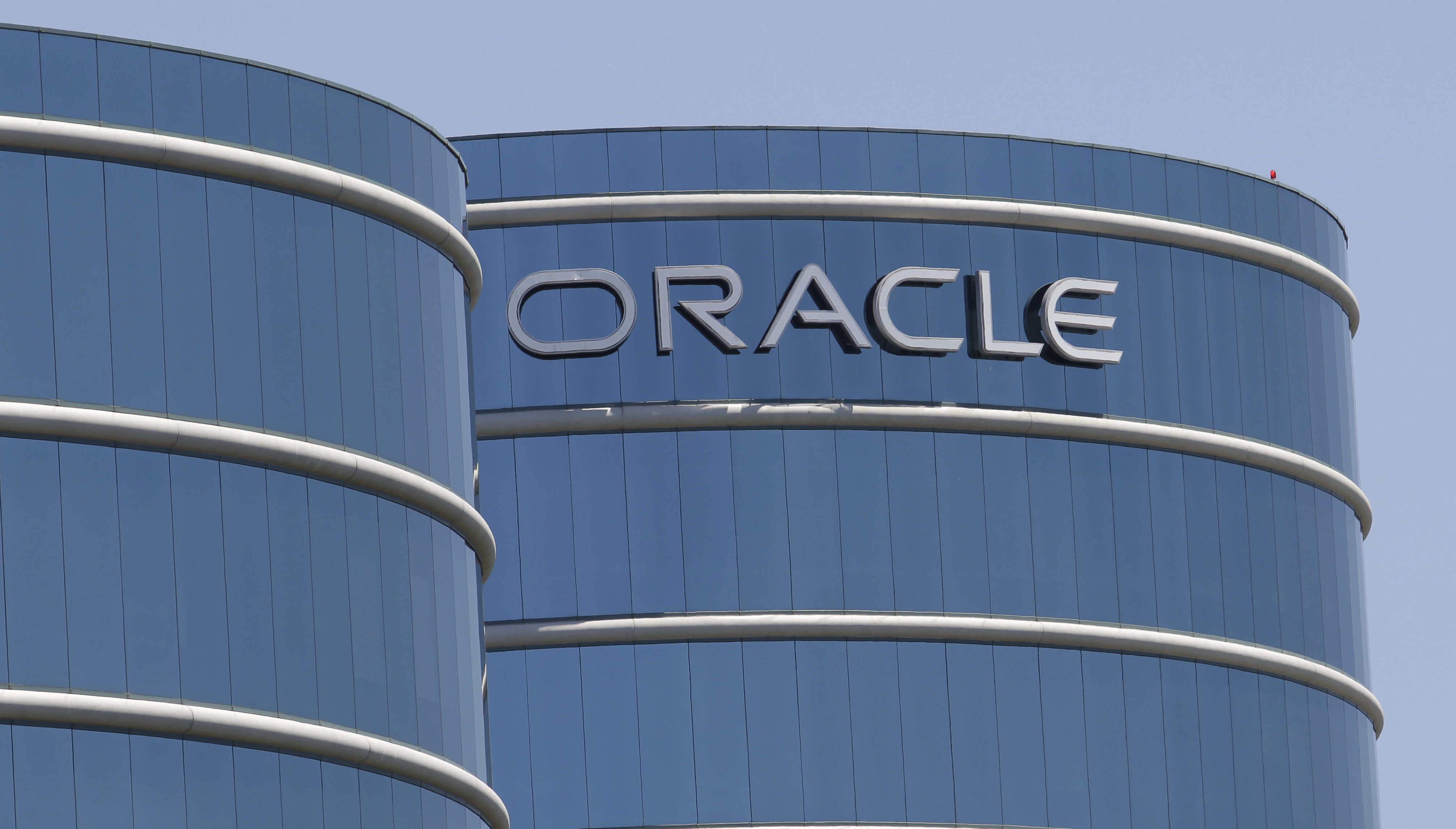 Oracle headquarters in Redwood City, Calif. (File)