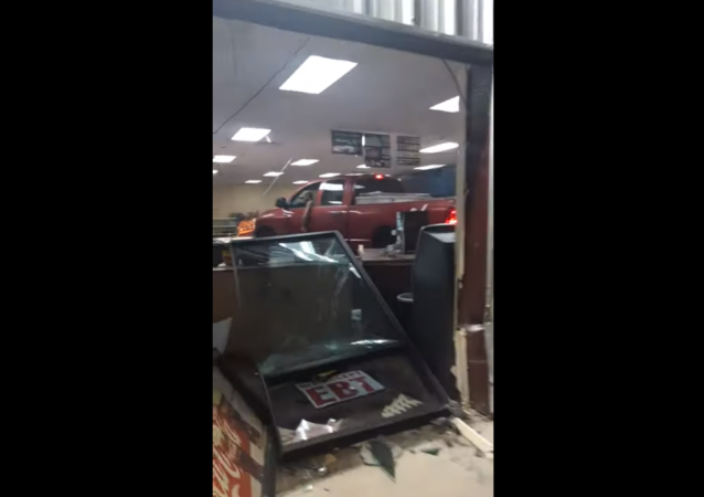 Georgia Man Drives Truck Into Convenience Store, Demands 'His Money'