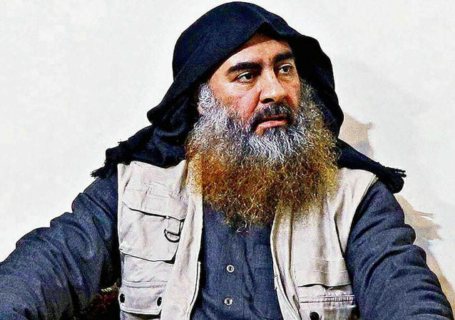 Late Islamic State leader Abu Bakr al-Baghdadi is seen in an undated picture released by the U.S. Department of Defense in Washington, U.S. October 30, 2019