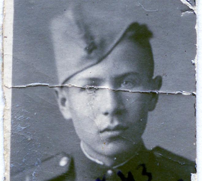 Young Vitaly Korotkov