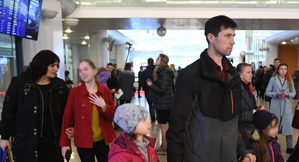 Russian national Denis Lisov escaped Sweden with his three children and returned to Russia