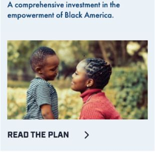 Pete Buttigieg's 2020 presidential campaign used a photo of a Kenyan woman to promote his plan to help black Americans