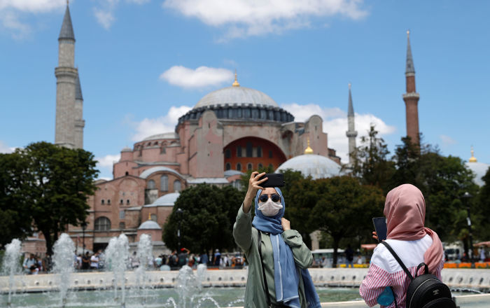 First Official Prayer at Hagia Sophia After Mosque Reconversion - Video