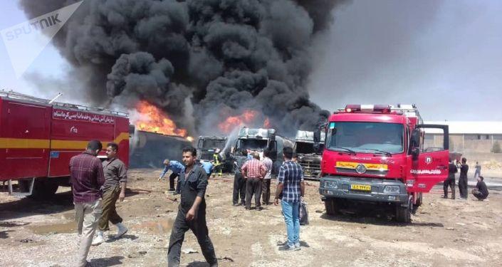 Blast Reported in Western Iranian Province of Kermanshah