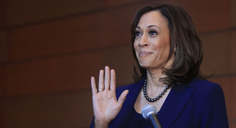 Kamala Harris Spotted Jogging up and Down Lincoln Memorial as Secret Service Agent Tries to Keep Up