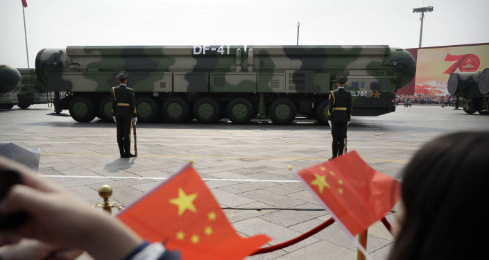 US Warned of Beijing's 'Massive' Muscle Flexing in Line With 'Shifting Chinese Nuclear Doctrine'