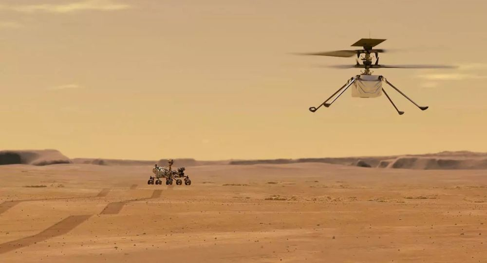 NASA Holds Press Conference on First Successful Flight of Ingenuity Helicopter on Mars