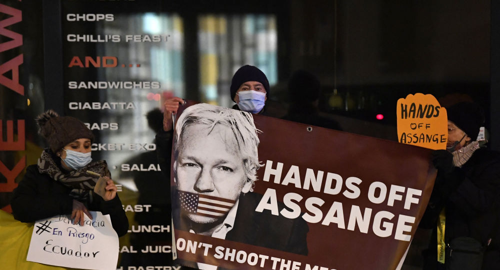 UK Lawmakers Call on Biden to Drop US Charges Against Julian Assange
