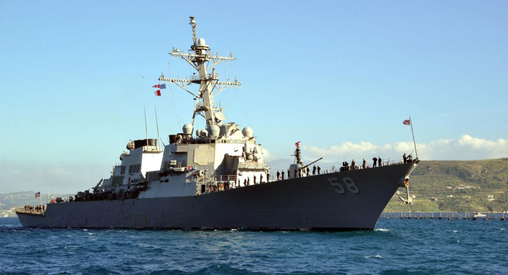 USS Laboon Enters Black Sea, Russian Navy Forces Monitor Its Movement