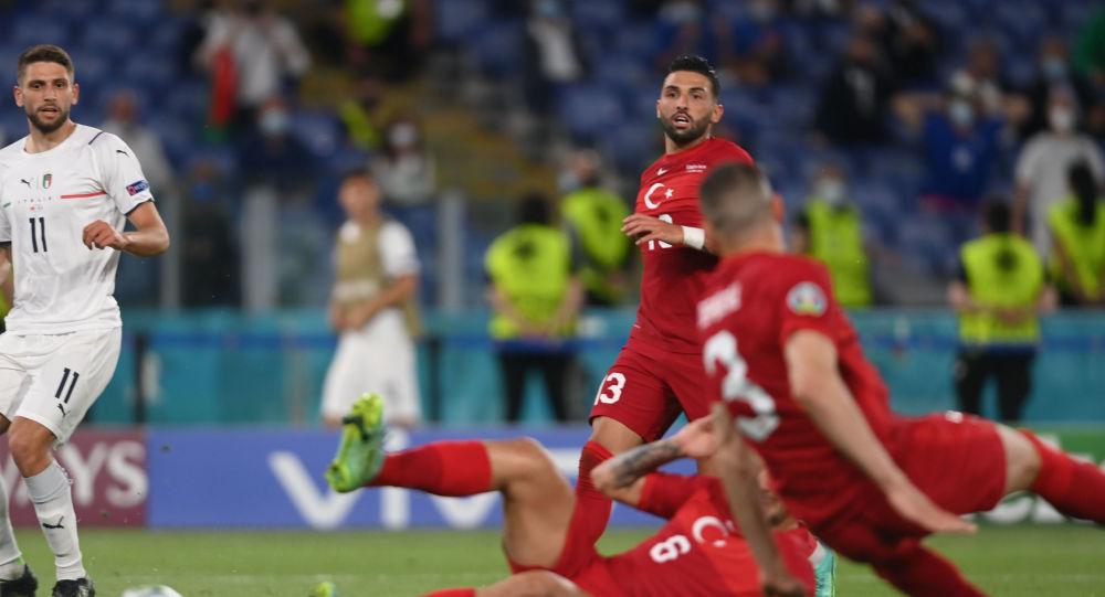 Watch Turkish Player Merih Demiral Score 1st Goal at EURO 2020, Sending Ball Into Own Net