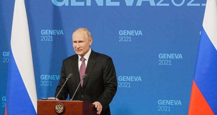 Putin Announces Cybersecurity, Strategic Stability Talks After Meeting Biden