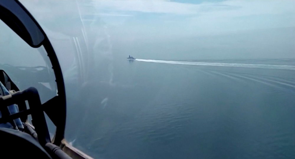 Watch: FSB Releases Full-Length Footage of Russian Vessel Firing Warning Shots at HMS Defender