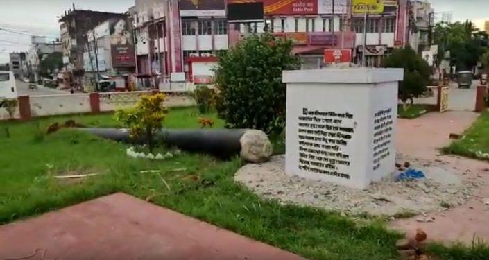 India, Bangladesh Civil Society Members Protest Against Shifting of 1971 War Memorial in Tripura