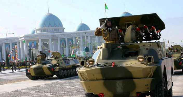 Turkmenistan Reportedly Sends Trainload of Military Equipment to Afghan Border Amid Taliban Advance