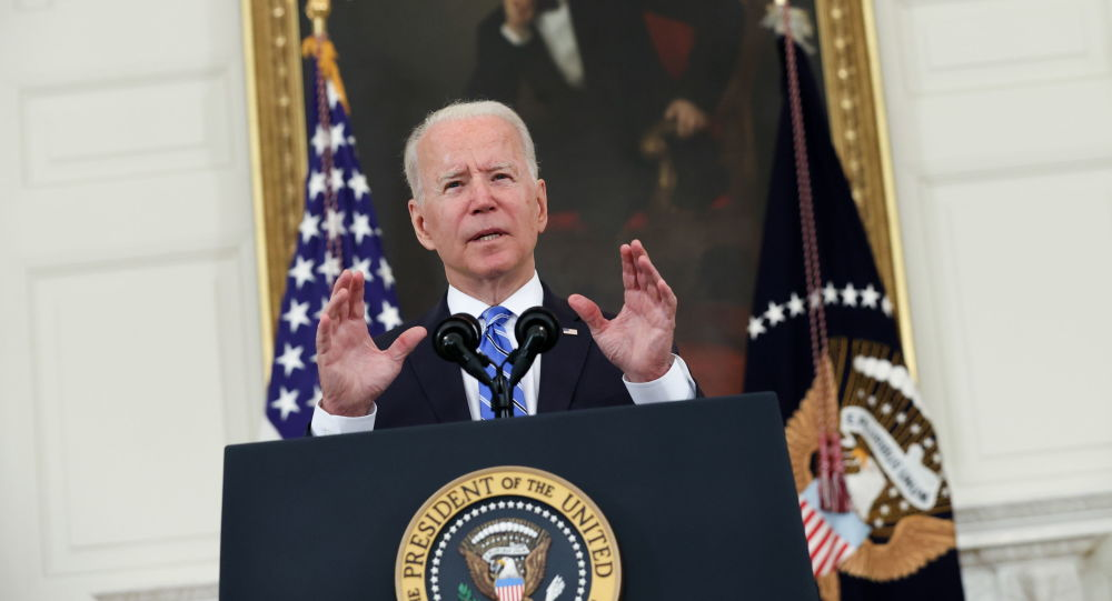 Biden Condemns Anti-Semitism as Swastika Found in US State Department Building