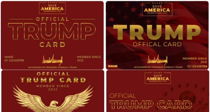 Trump Touts Gimmicky 'Trump Cards' That Don't Do Anything to 'Dedicated Supporters'