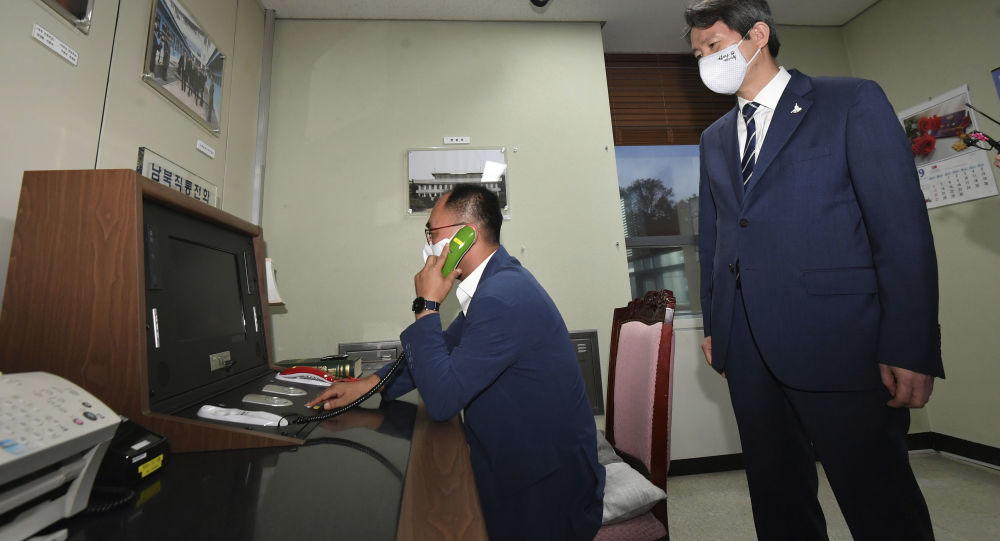 North Korea Ignores Seoul's Hotline Calls for Second Straight Day, Reports Say