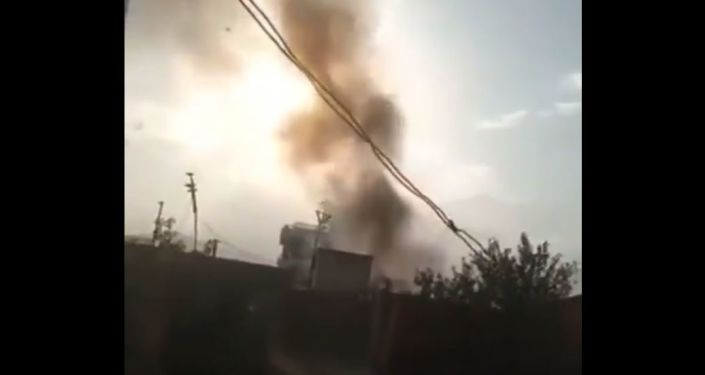 WATCH Black Smoke Rising Into Sky After 'US Rocket' Hits Residential Building in Kabul