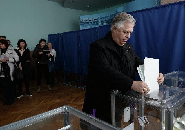Petro Symonenko in early elections for deputies of Ukraine's Verkhovna Rada parliament