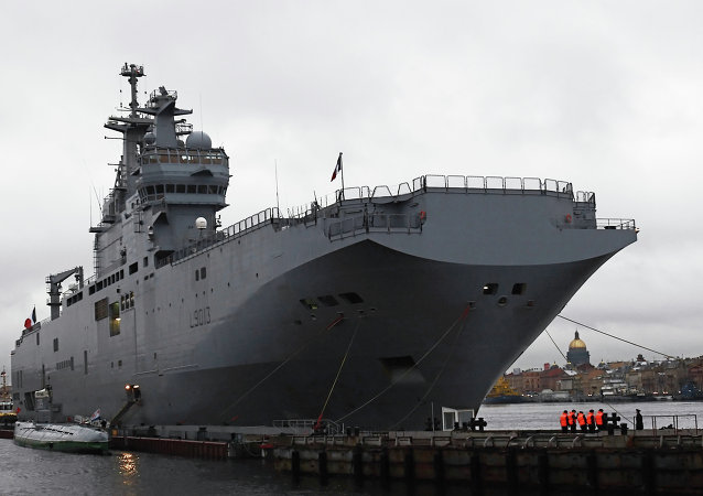 Mistral Helicopter Carrier