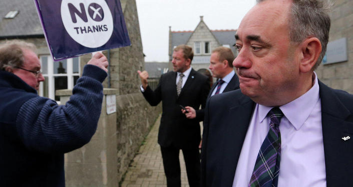Alex Salmond, Scottish National Party First Minister