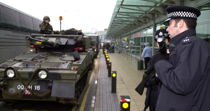 UK Security forces and police