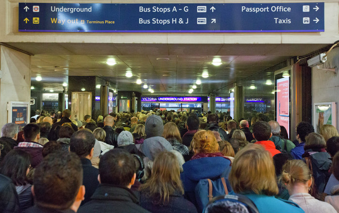 Commuter chaos as bus drivers strike in the UK