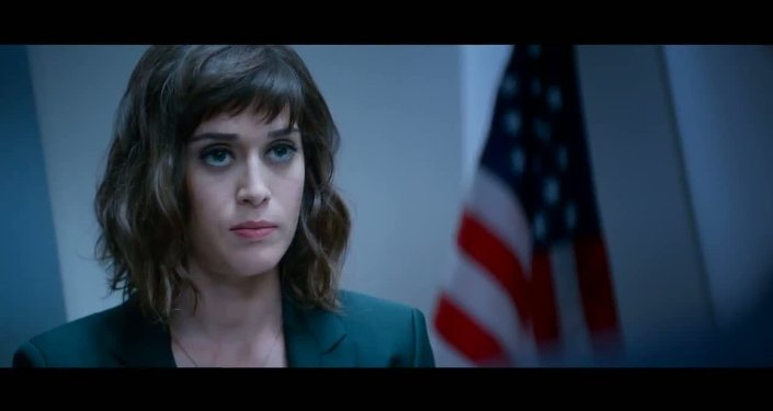 Screenshot of Lizzie Caplan in The Interview. Caplan plays a honeypot CIA agent in the controversial film.