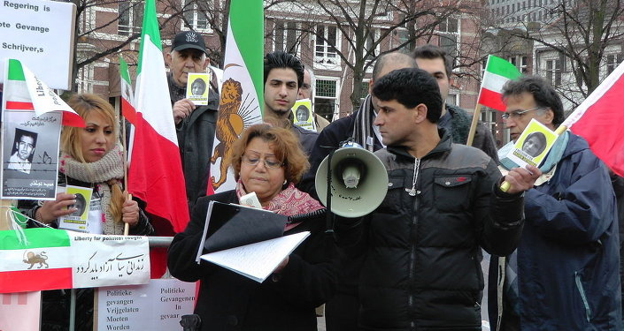 Persian Community Demonstration for Nasrin Sotoudeh The Hague 15 Dec 2012
