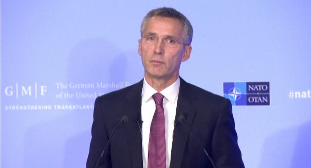 Stoltenberg on Relations With Russia:  NATO Does Not Seek Confrontation