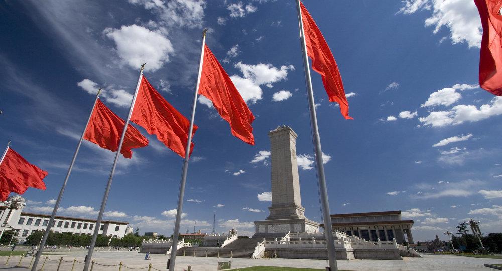 Tiananmen Square in Beijing, China