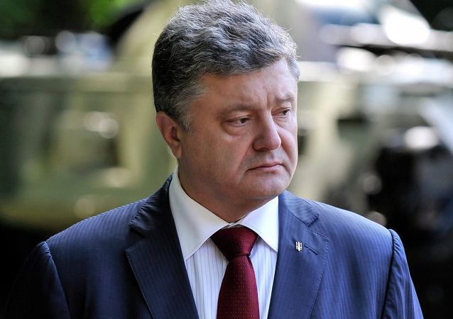 Petro Poroshenko attends graduation ceremony at National University of Defense of Ukraine