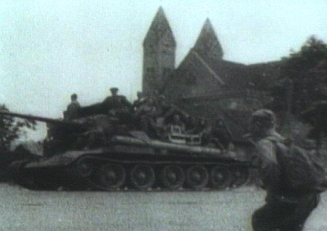 Операция Багратион 1944 года. Освобождение Минска в архивных кадрах