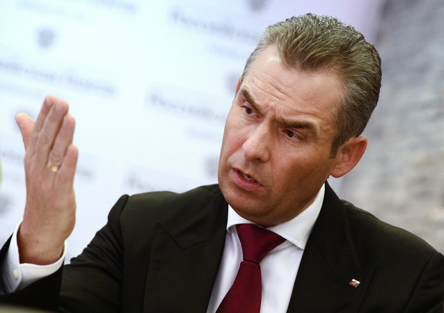 Presidential Commissioner for Children's Rights Pavel Astakhov