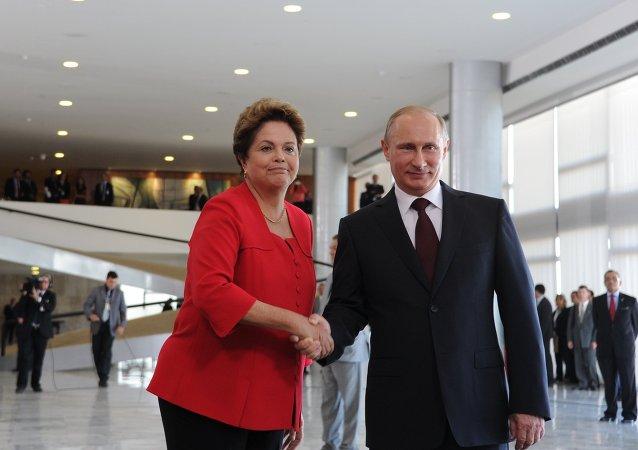 Официальный визит В.Путина в Бразилию