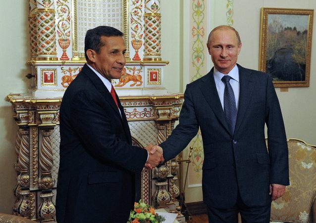 Встреча В.Путина с О.Умалой