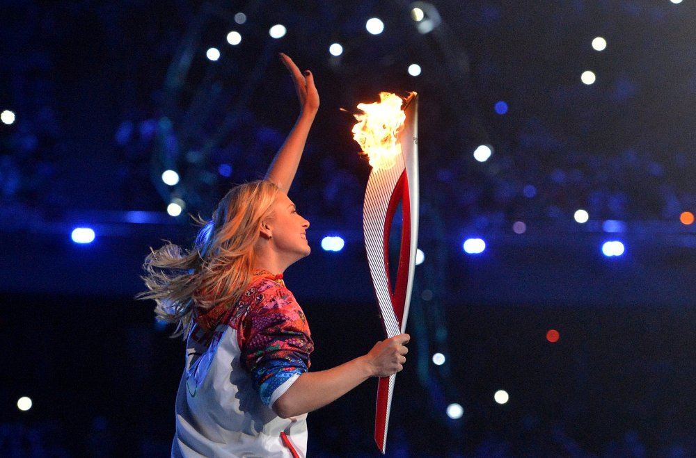 Opening ceremony of XXII Olympic Winter Games in Sochi